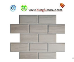 Brick Wood Marble Mosaic
