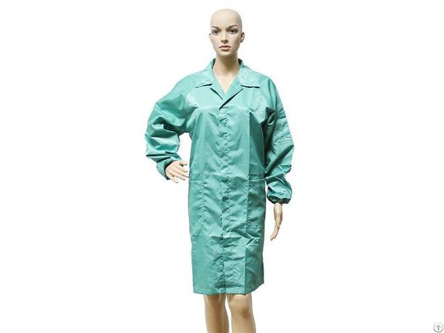 Hot Sale High Quality Soft New Design Cleanroom Clothes Esd Suit Uniform Wholesale