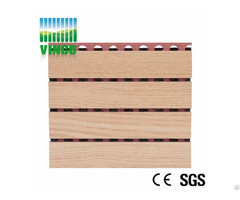 Wooden Acoustic Panel Groove Pattern