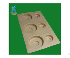 China Factory Packing Molded Fiber Pulp Cheap Tray