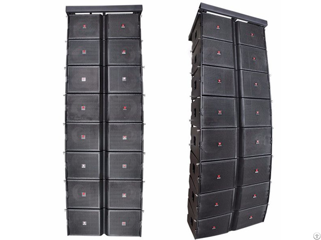 Dual 12 Inch Line Array System