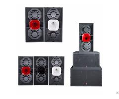 Dual 15 Inch Deep Sound Pa Speaker