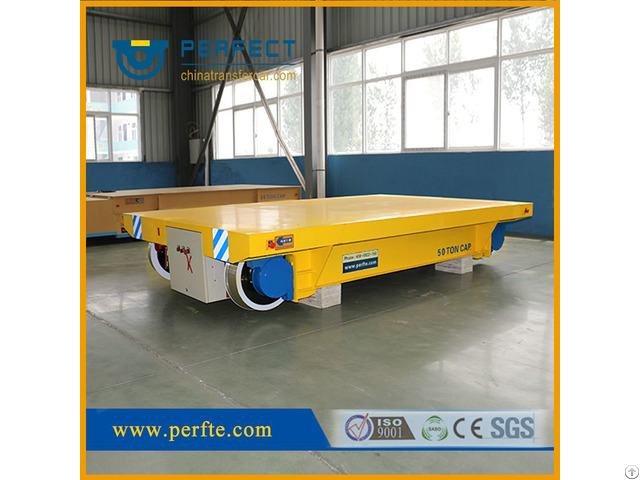 Heavy Load 50t Cable Drum Powered Car