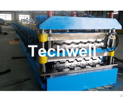 Chain Transmission Double Layer Roll Forming Machines For Corrugated Sheets
