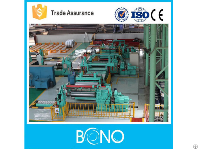 Top Quality Used Hr Steel Coil Slitting Machine