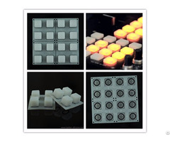 Elastomer 4x4 Buttons Transparent Silicone Keyboard