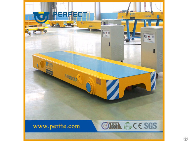 Rail Material Handling Low Bed Wagon