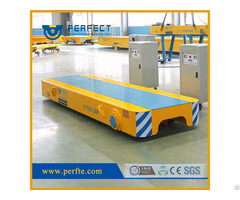 Rail Powered Material Handling Low Bed Wagon