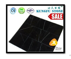Nero Marquina Marble Flooring Tile