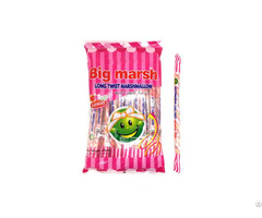 Candy Wholesale Fruit Long Twist Marshmallow