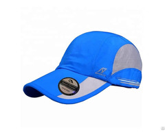 Custom Printed Mesh Running Hats Dry Fit Sport Run Cap