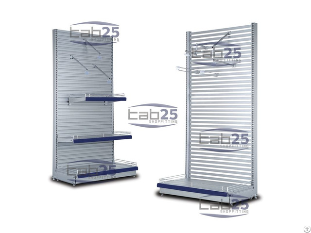 Shelving With Ondula And Profile Back Panel