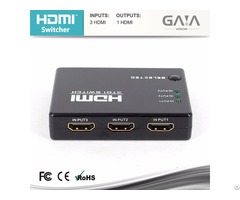 Mini Ir Remote 3 Port Hdmi Switch 3x1 1080p 1 3v