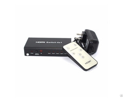 Hdmi Switch 4 To 1 With Ir Remote