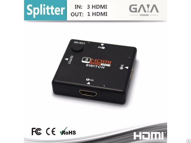 Hdmi Splliter V1 4 Full Hd 1080 3d