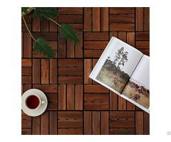 Cheap Price Interlocking Wood Floor Anti Slip Deck Tiles