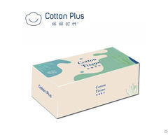 Cardboard Box Packed Feminine Facial Wipes