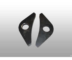 Forklifts Metal Parts Laser Cutting Service China