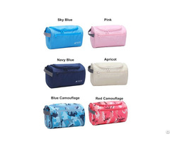 China Supplier Nylon Multifunctional Wholesale Travel Hanging Toiletry Cosmetic Bag