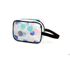 China Manufacturer Leather Print Cosmetic Bag Makeup Bags For Promotion