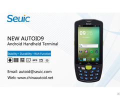 Seuic New Autoid9 Series Android Industrial Pda