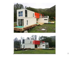 Luxury And Modern Shipping Container House