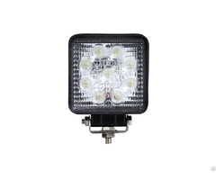 9led 4 Inch 27w Led Work Light