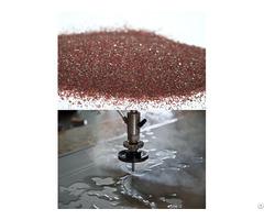 Natural Material 80 Mesh Water Jet Garnet Sand Abrasive