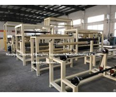 Silicon Coated Fiberglass Machine