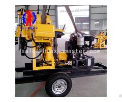 China Xyx 200 Wheeled Hydraulic Rotary Drilling Rig Machine Manufacture