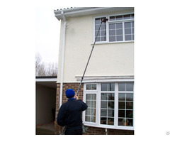 Eleven Section 60ft 55msi High Modulus Carbon Fiber Window Cleaning Pole
