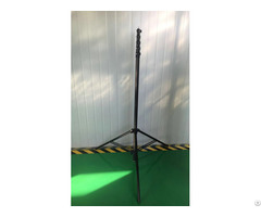 Lighter And Stronger Telescoping Tripod Pole Black Surface With 100% Carbon Fiber Materials