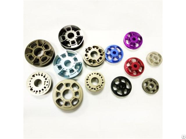 Custom High Precision Cnc Machining Common And Hard Anodized Aluminum Piston Manufacture