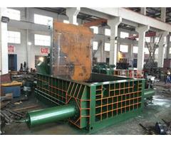 Scrap Metal Baler 250 Y81t 1600 Automatic Horizontal Scraps Metals Balers