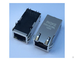 Ingke Ykku 8339nl 100% Cross 0826 1x1t 43 F 1000 Base T Magnetics Rj45 Jacks