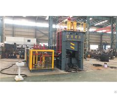 Waste Car Baler Scrap Hydraulic Hms Balers Shear 500 Tons