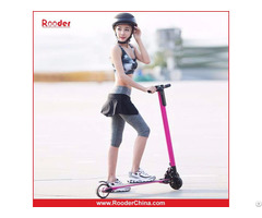 6.3kg Only, The Lightest 2 Wheel Carbon Fiber Folding Electric Scooter Rooder