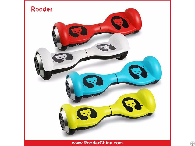 Rooder Mini Smart Self Balancing Electric Scooter Hoverboard For Kids