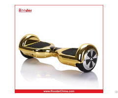Rooder R8 Chrome Scooter Wheels / Boards / Airboard/ Metallic Pink Golden Silver
