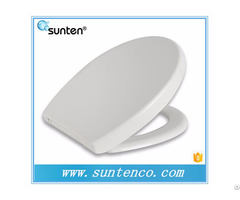 Cheapest White Urea Toilet Cover Manufacturer With Soft Close
