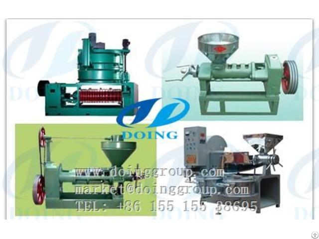 Sunflower Oil Press And Making Machine