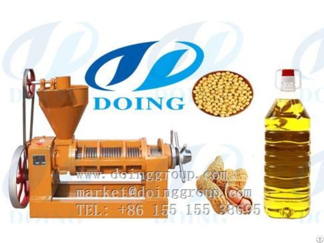 Peanut Groundnut Oil Press Machine