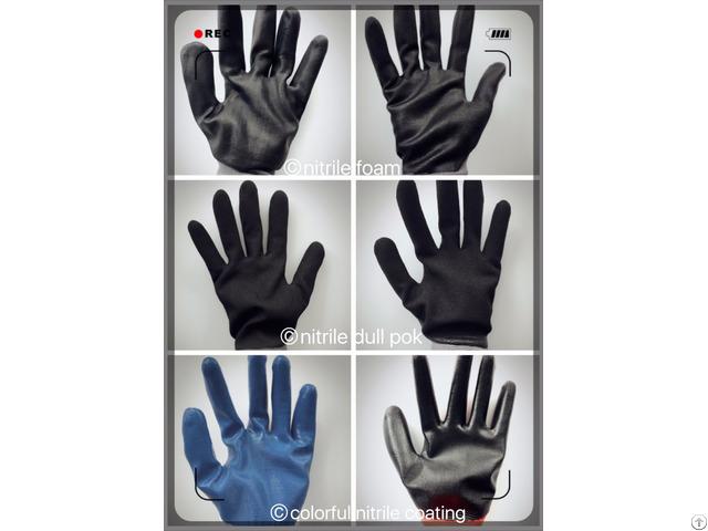 Manufacturer Of Nitrile Coated Gloves