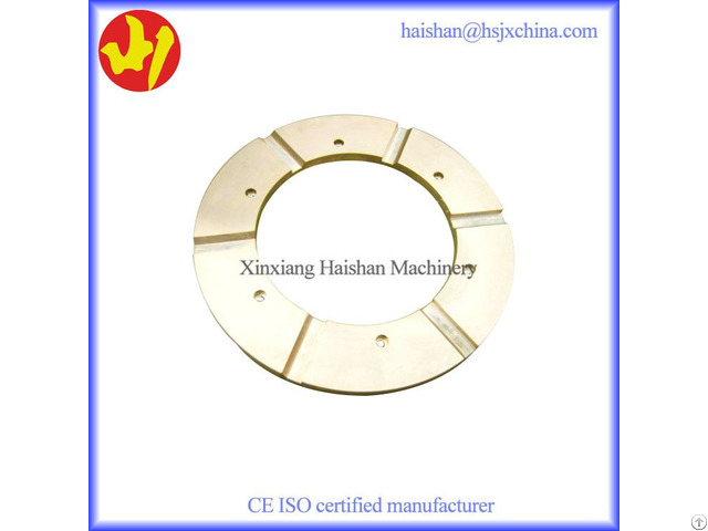 High Quality Bronze Metso G12 Thrust Bearing Plate