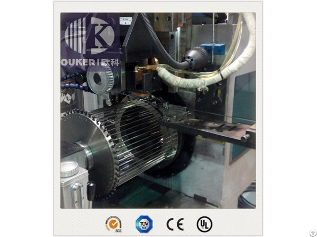 V600 1400 Big Diameter Range Wedge Wire Screen Tube And Plate Welding Machine