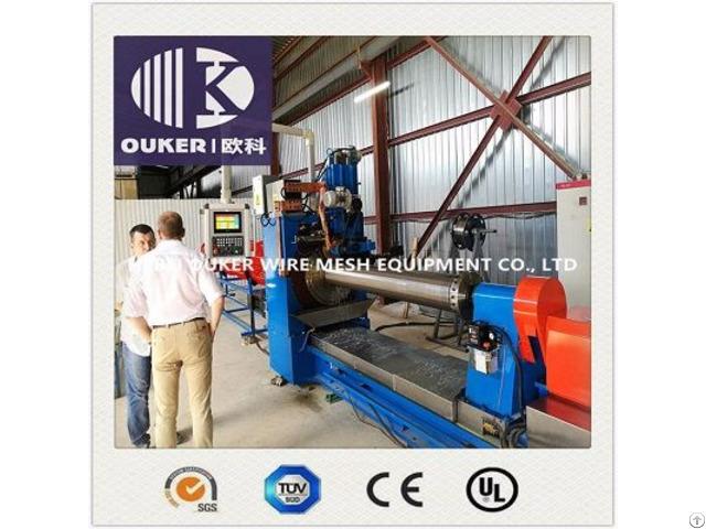 V600 1200 Oil Pipe Wedge Wire Screen Welding Machine