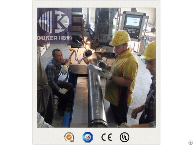V50 500 Johnson Wedge Wire Well Screen Welding Machine