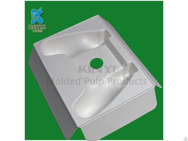 Environmental Paper Pulp Electronic Packaging Tray