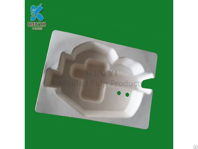 Eco Friendly Paper Pulp Molded Electronic Packaging Tray