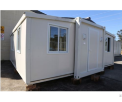 Luxury Prefab Homes Modern Garden 40 Ft Expandable Container House